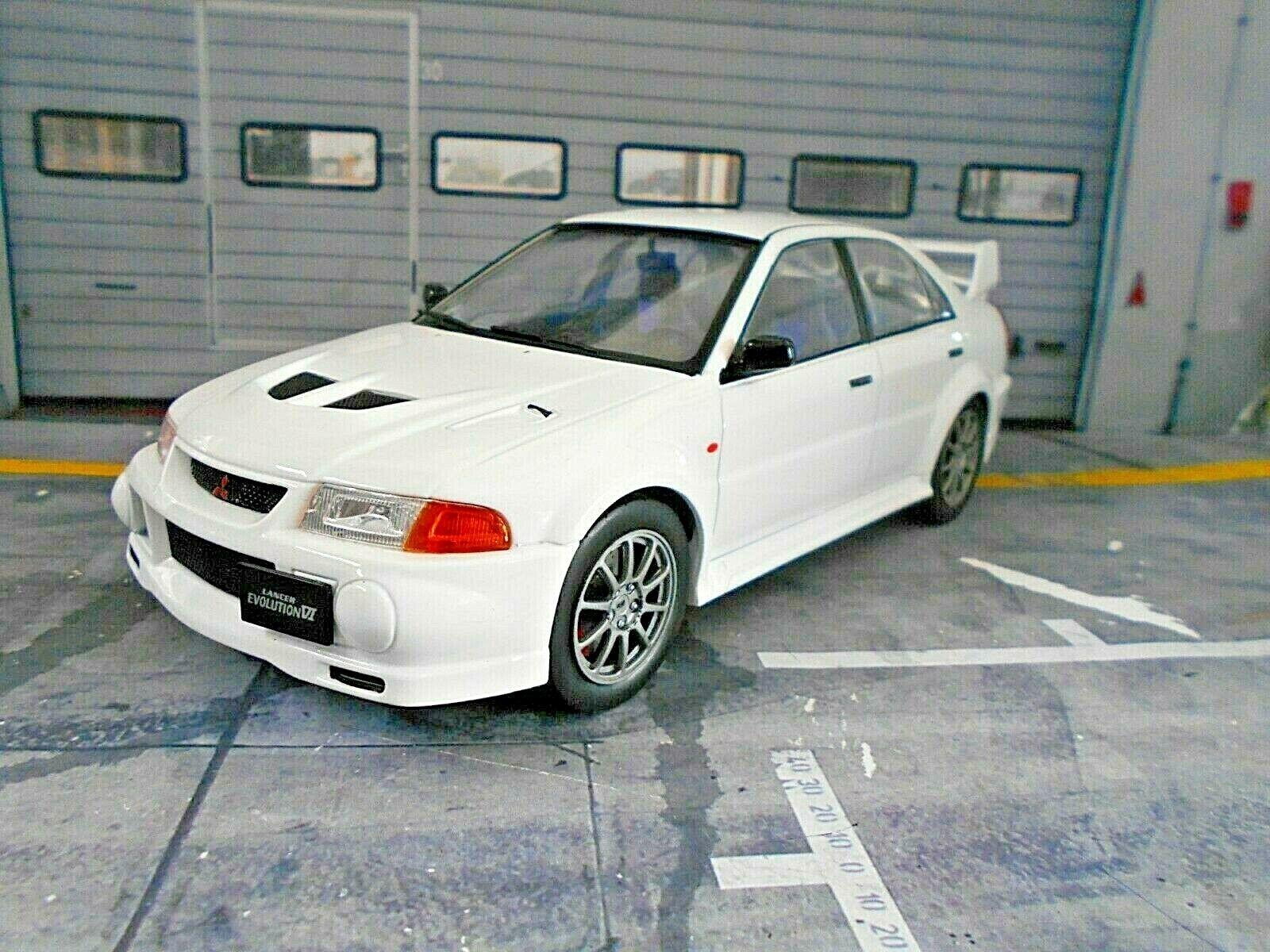 Mitsubishi Lancer EVO 6 VI rallye blanc Blanc Street 1998 IXO Nouveau New 1 18