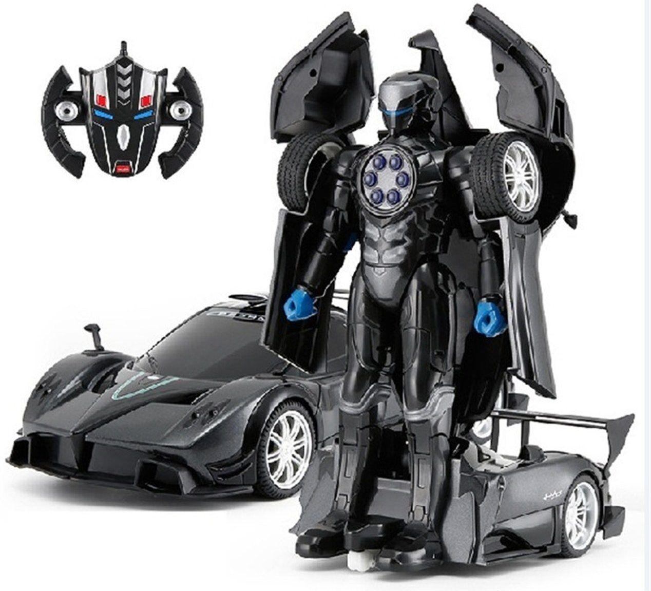 Radio Controlled Pagani Zonda R One-key Transforming Robot   Car 1 14 Rastar