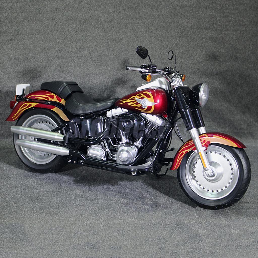 1 6th Scale Collectible Motorcycle  modellololo 12'' azione cifra Accessory Flame  sport caldi