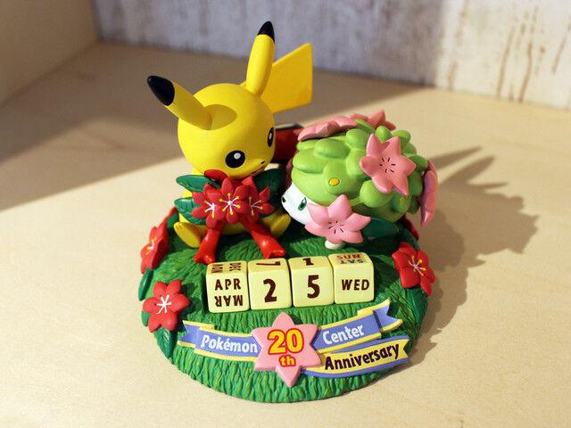Pokemon Center Original Pokemon Center 20th aniversario Calendario Perpetuo