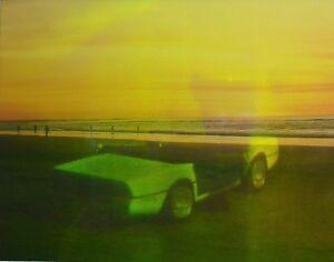 Hologrammbild 3d Hologramm Holographie Cabrio Düne Sportwagen Ferrari Ebay