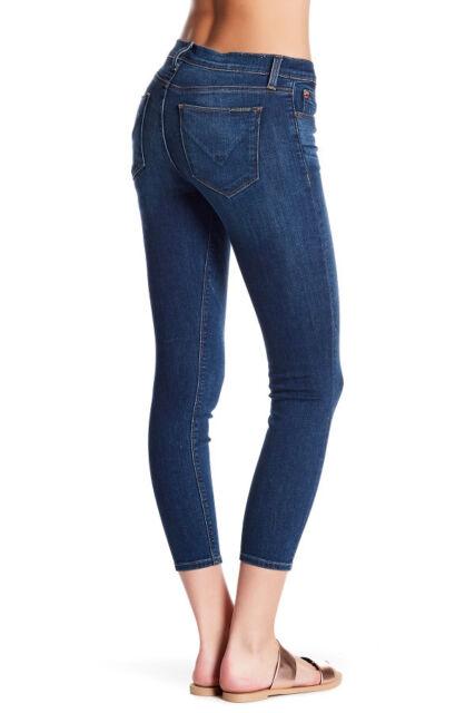 5d1a6d93379 NWT HUDSON Womens Krista Super Skinny Crop Mid-Rise Jeans Size 30 Gratitude  Wash