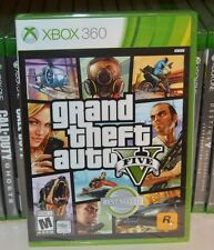 Xbox 360 Grand Theft Auto V 5 GTA5 NEW Sealed REGION FREE USA Racing
