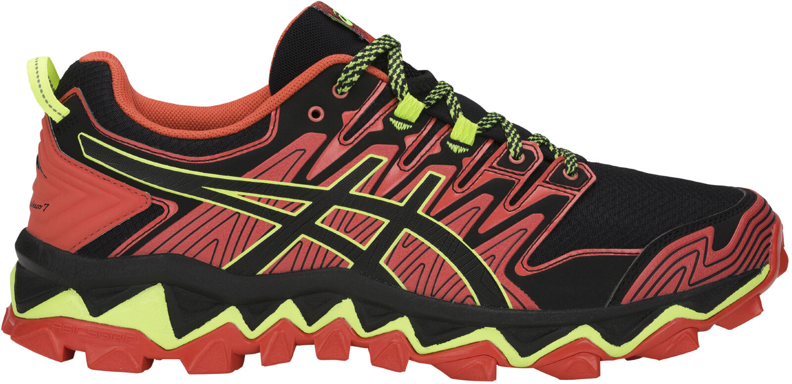 Asics Gel FujiTrabuco 7 Mens Trail Running shoes - Red