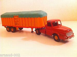 Dinky Toys - 36 B Tracteur Willème Et Semi-remorque Fruehauf N Mint