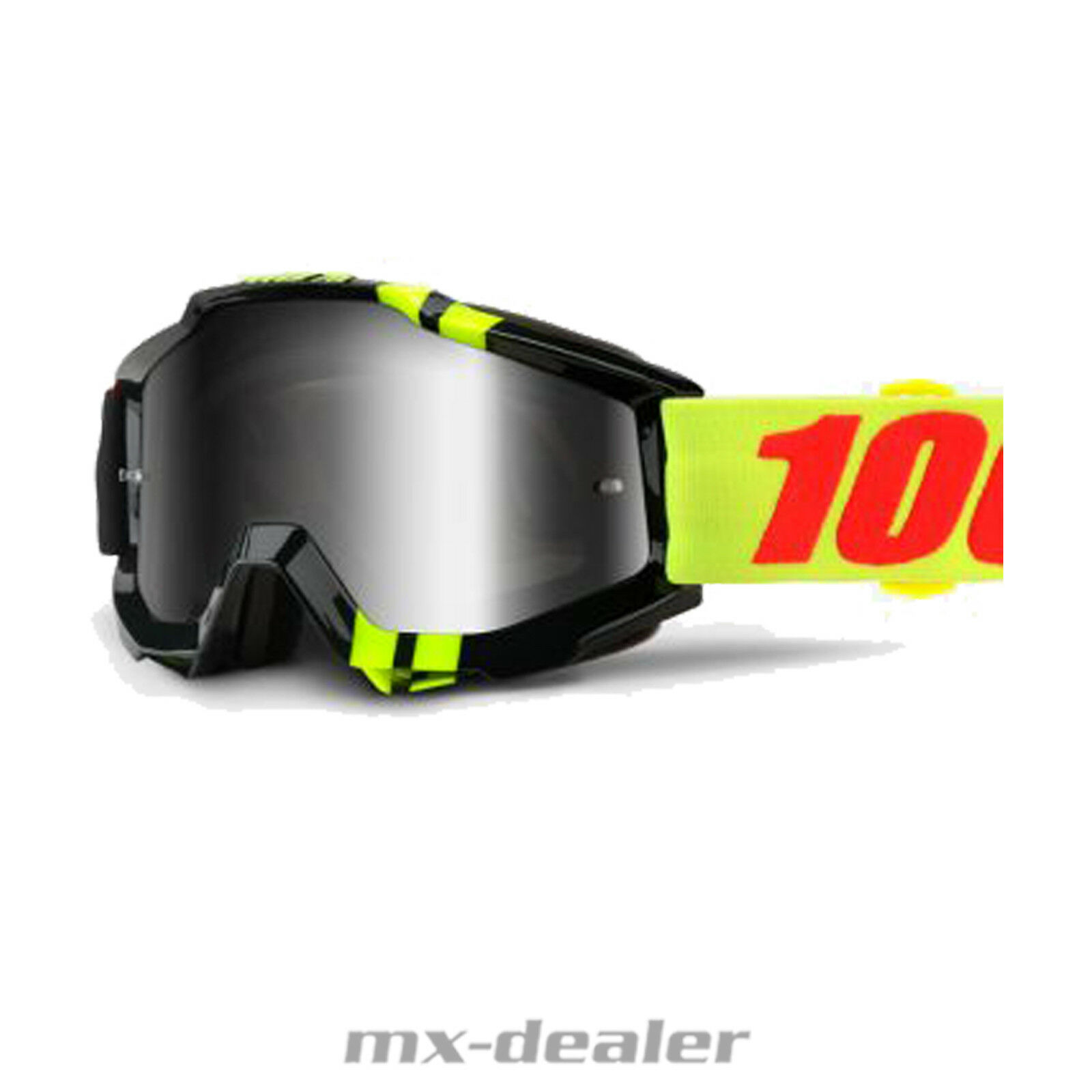 100 % Prozent Accuri ZERBO verspiegelt MX Motocross Cross Brille BMX MTB 2018    Vollständige Spezifikation
