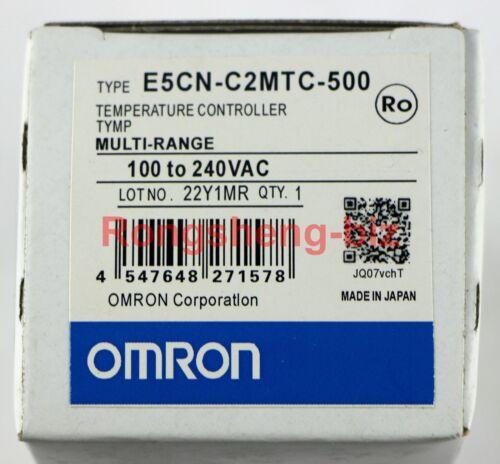 1PC NEW IN BOX OMRON Temperature Controller E5CN-C2MTC-500 100-240VAC