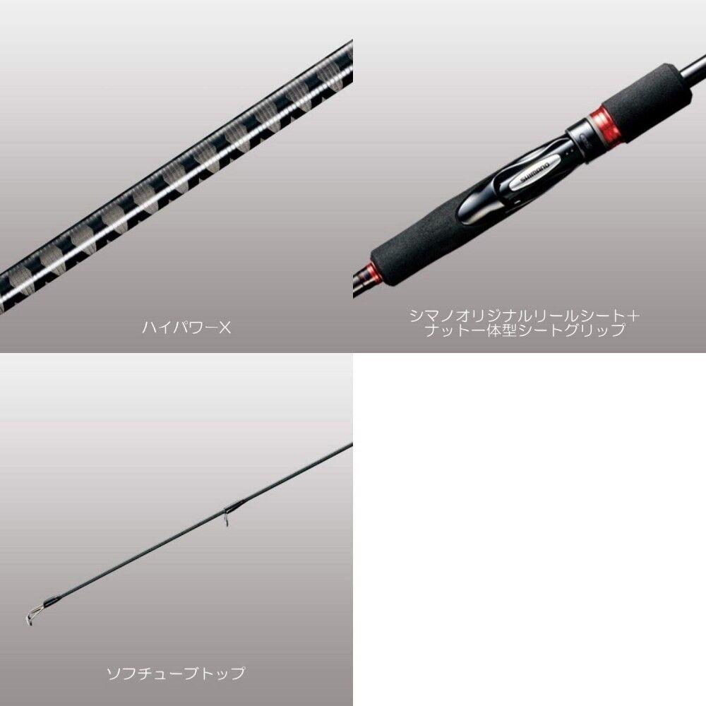 Caña shimano sephia 18 BB S89M S89M S89M de elegante los pescadores Japón 4a9b7a