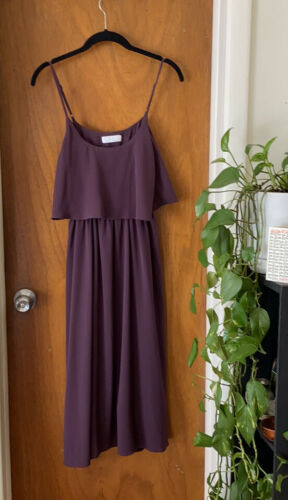 Oak and Fort burgundy dress in small