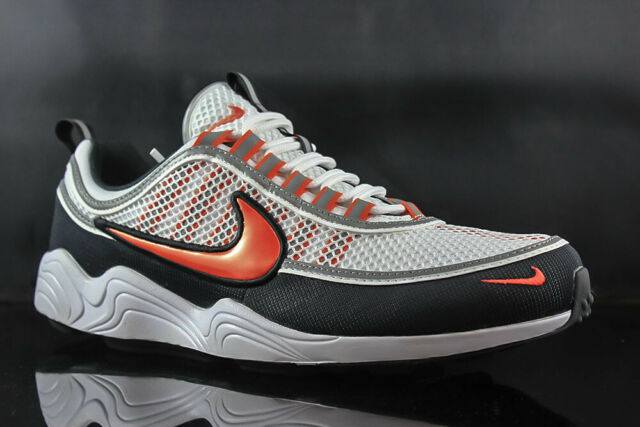 559b873793b50 Nike Air Zoom Spiridon 16 Retro Running Shoes White orng Men 9.5 926955-106