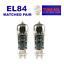 thumbnail 2 - Vacuum Tube EL84 / 6BQ5 Tung-Sol Reissue Matched Pair