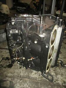Mercury Optimax 2.5L 135hp outboard crankcase block