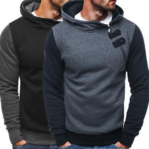 Men-Casual-Fleece-Hooded-Zip-Up-Sweatshirt-Winter-Warm-Gym-Pullover-Sport-Coat