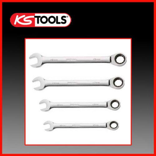 KS Tools 503.4204 cliquet ringmaulschlüssel 10-19 mm
