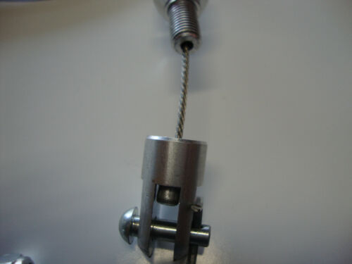 STAINLESS STEEL THROTTLE// 700R4 KICK DOWN CABLE /& BRACKET HOT ROD  #6054//55//6051