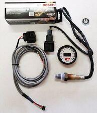 APSX V2 Anti-Glare D2 Digital Wideband O2 AFR Gauge & Sensor Kit White & YELLOW