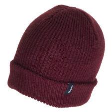 Brixton Hats Heist Beanie Hat - Burgundy