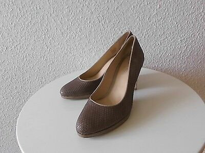 Schuhe Pumps EYE Gr.39 Leder TOP
