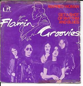 45-TOURS-7-034-SINGLE-FLAMIN-039-GROOVIES-MARRIED-WOMAN-1972