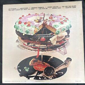 "ROLLING STONES ""LET IT BLEED""LP LONDON RECORDS W/ORIGINAL POSTER 1969"