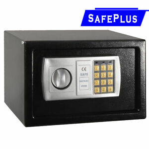 12-5-034-Electronic-Digital-Lock-Keypad-Safe-Box-Cash-Jewelry-Gun-Safe-Black-New