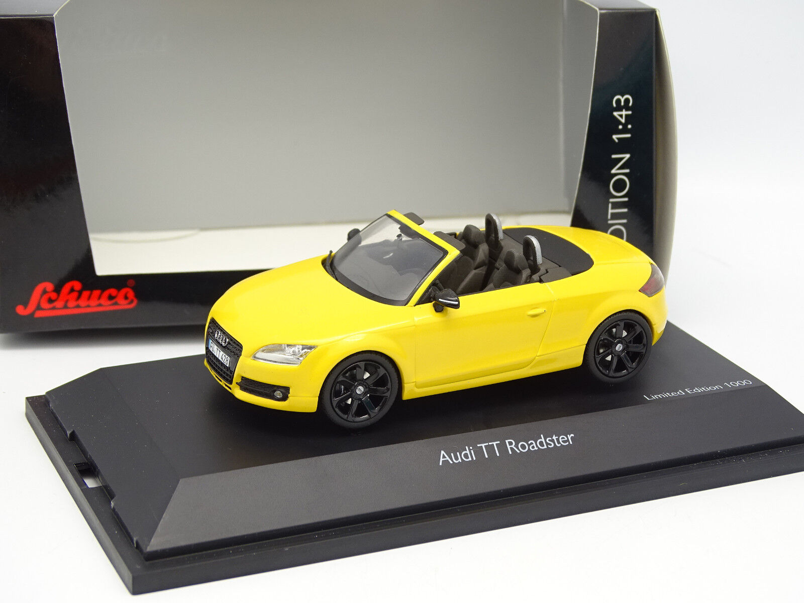 Schuco 1/43 - Audi Tt Roadster Gialla