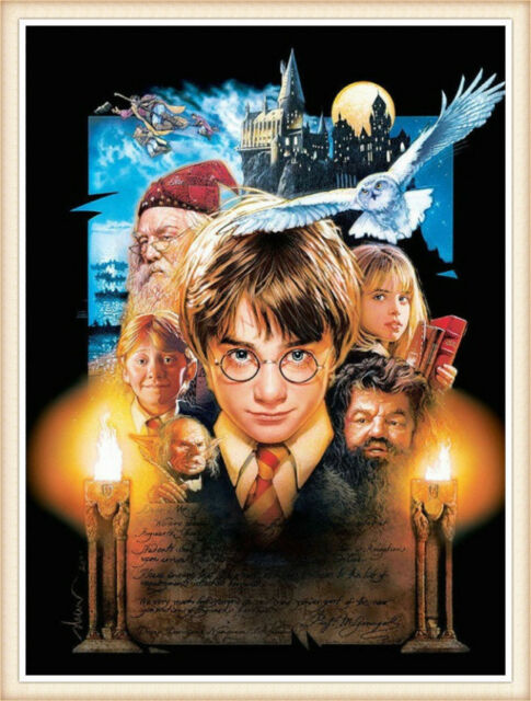 5D Harry Potter Full Drill Diamond Painting Embroidery Cross Stitch Kit Mural