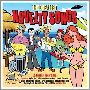 Various-Artists-Greatest-Novelty-Songs-New-CD-UK-Import