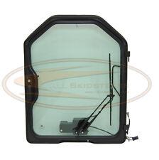 For Bobcat Skid Steer Door W Wiper Glass S160 S175 S185 Front Enclosure Loader