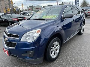 2010 Chevrolet Equinox LS AWD BLUETOOTH ALLOYS ONLY 79,000 LOW KMS...MINT
