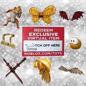 Roblox Virtual Bonus Chaser Code Series 3 Mystery Box Figure Toys