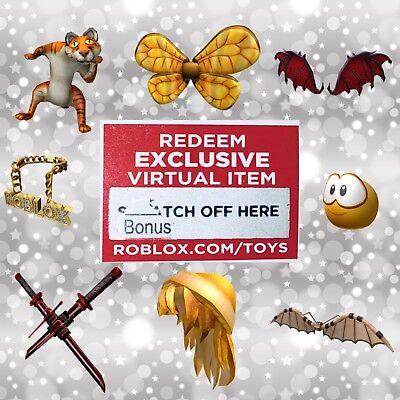 Roblox Virtual Bonus Chaser Code Item Series 1 Action Figure Toys
