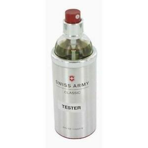 SWISS ARMY Classic Cologne for Men 3.4 oz New in Box tester