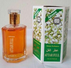 Attar Full 100ml By Ahsan Perfumes Jasmine Eau De Parfum Spray