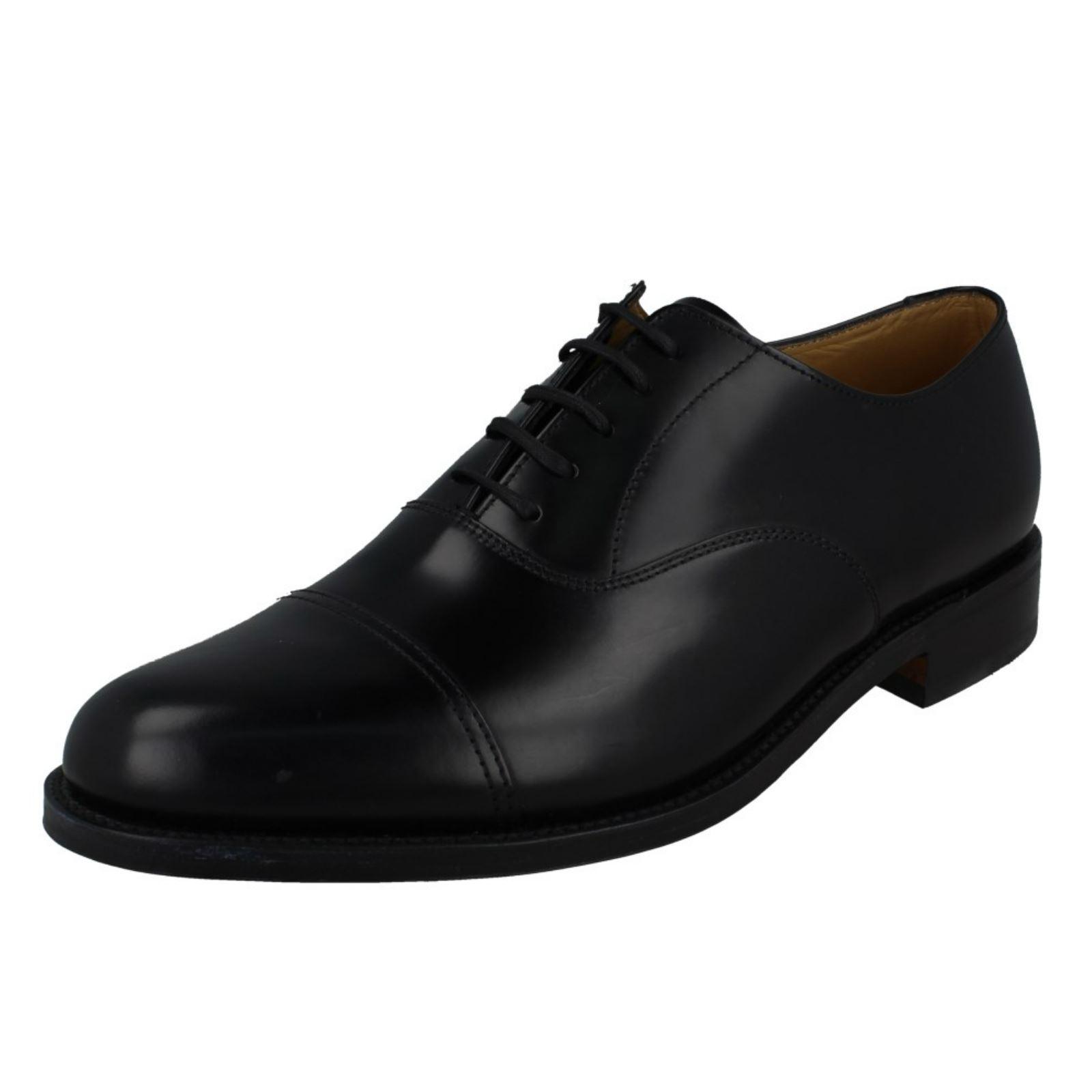 'para Hombre Loake' Pulido Cuero Inteligente Zapatos-incluido