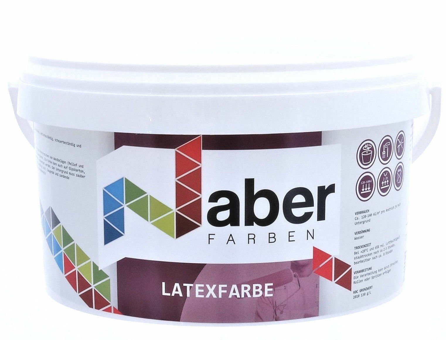 ( /L) 10 Liter   - RAL 3012 Beigerot -  Latex - matt