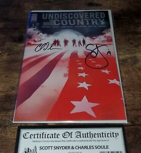 Undiscovered-Country-1-Jock-Variant-2x-Signed-by-Snyder-amp-Soule-Near-Mint