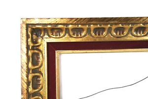 Vintage-Baroque-Style-Ornate-Gold-Gesso-Photo-Picture-Frame-Fits-20-034-x-16-034