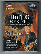 HANDS OF STEEL - X-TREME STRENGTH & TECHNIQUE TRAINING - DVD NEUF NEW