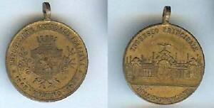 Médaille Souvenir - Turin Espozisione Generale Italiana Torino 1898 Ingresso DéLicieux Dans Le GoûT