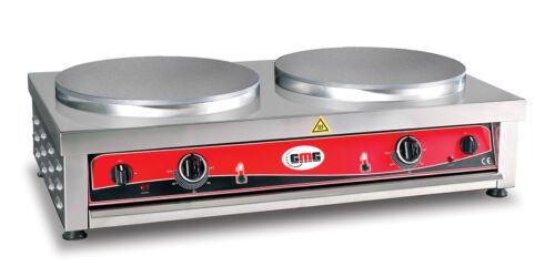CR-D240 Gastronomie Doppel Crepeseisen für Gewerbe Crepes maker Crepeseisen