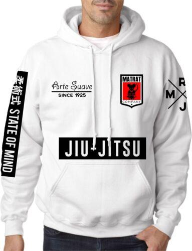 Mat Rat BJJ Hoodie MMA Clothing Brazilian Jiu Jitsu Martial Arts UFC Grappling