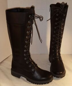 ea32995574fe NEW WOMEN S TIMBERLAND 14 INCH PREMIUM SIDE ZIP LACE WATERPROOF ...