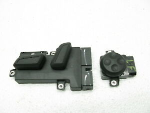 2011 11 12 13 AUDI S4 B8 FRONT LEFT DRIVERS POWER SEAT ADJUST SWITCH MEMORY OEM