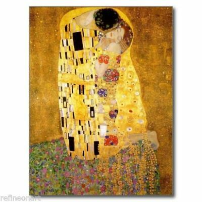 "CHENPAT653 100/% hand painted abstract modern /""lover/"" oil painting art on canvas"