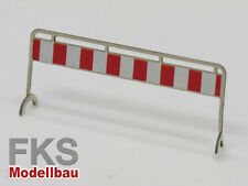 FKS 160-040-12 - Baustellen Absperrgitter Typ 4,Set mit 8 Stück - Spur N - NEU