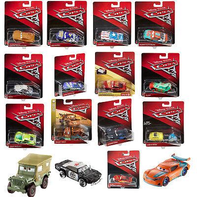 Disney Pixar Cars 3 Diecast Cars 1 55 Vehicle All Characters