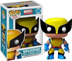 X-Men - Wolverine Pop! Vinyl Bobble Head Figure NEW In Box Funko