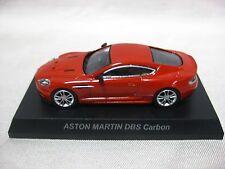 1:64 Kyosho ASTON MARTIN DBS Carbon Red Diecast Model Car