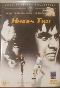 HEROES TWO RARE DVD SHAW BROTHERS FULLY RESTORED MARTIAL ARTS FILM CHEN KUAN-TAI